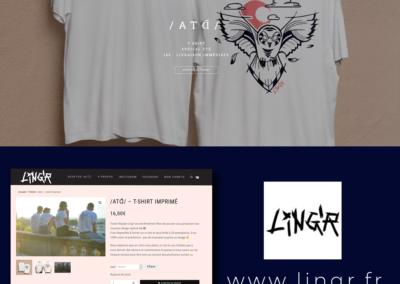 Webdesign boutique en ligne Lingr