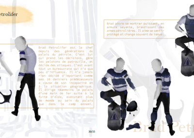 Artbook - Personnages