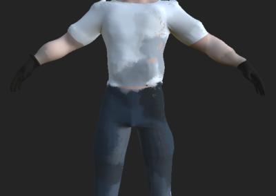 Ouvrier - T pose